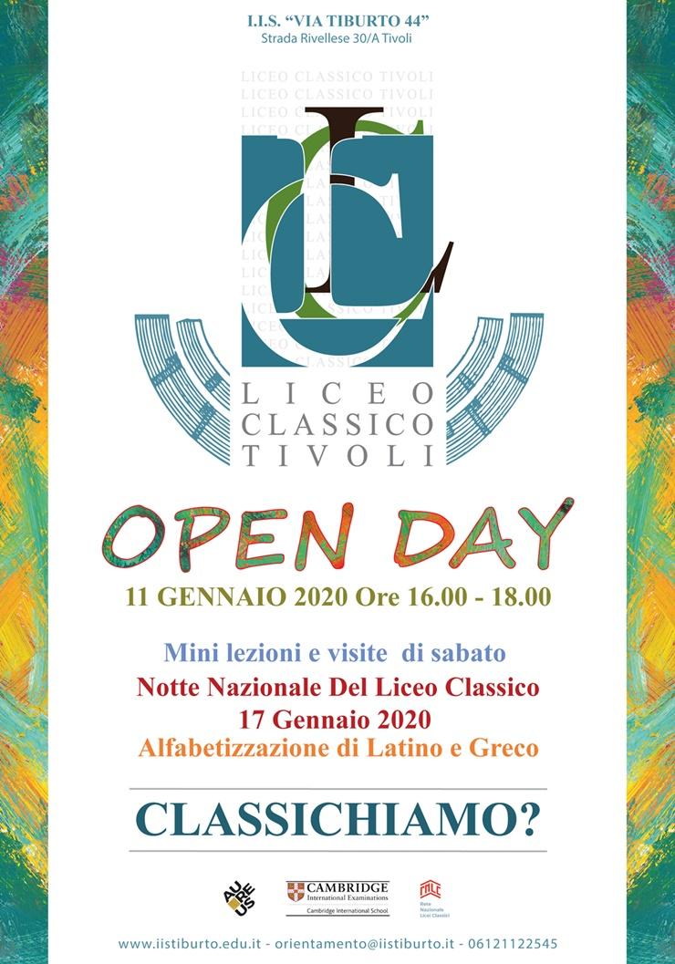 Open Day Liceo Classico