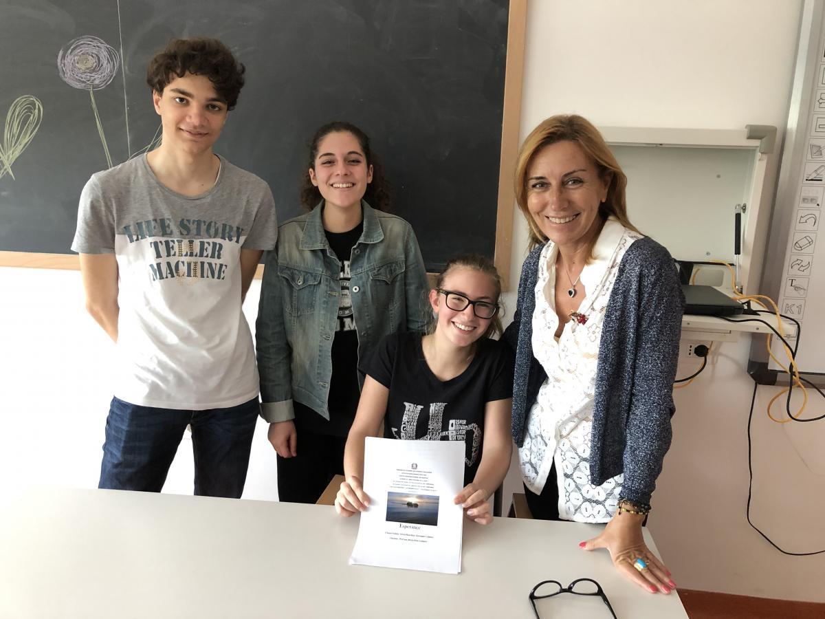 Il racconto Esperançe scritto dagli alunni della classe 3C del Liceo Classico, è stato premiato...
