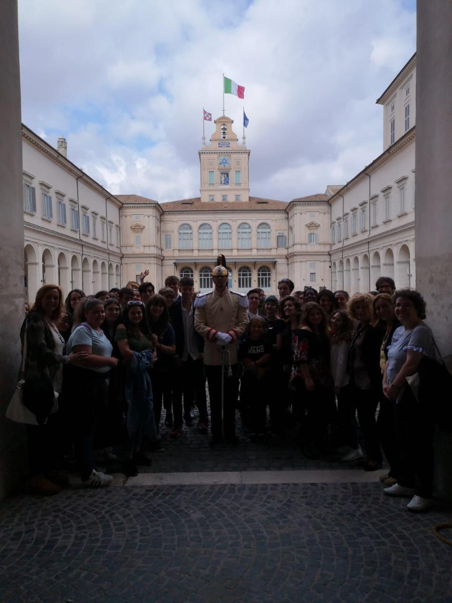 Visita del palazzo del Quirinale